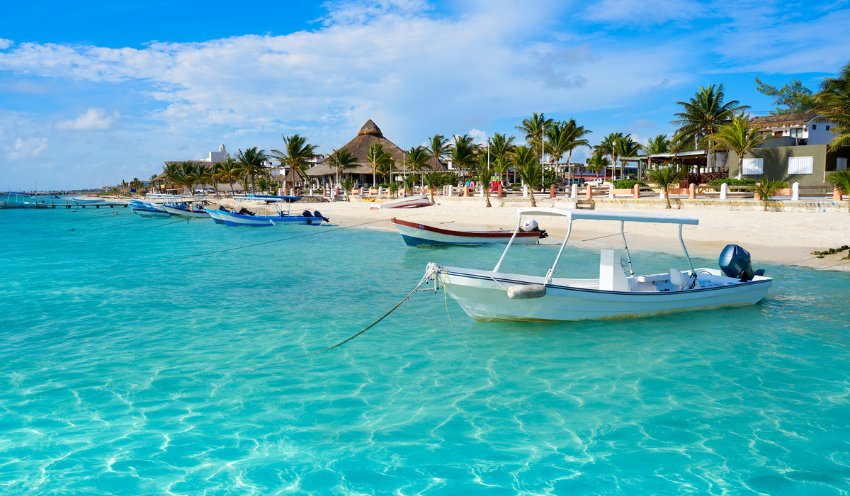 How to get from Cancun airport to Puerto Morelos