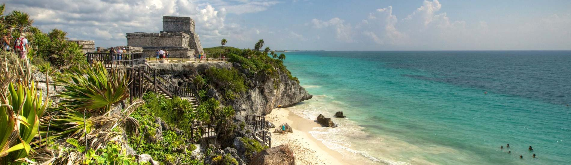 How to go to Tulum and how far is the tulum from Cancun