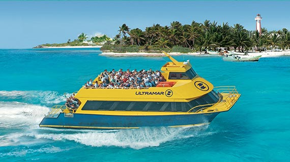 ferri cancun to isla mujeres