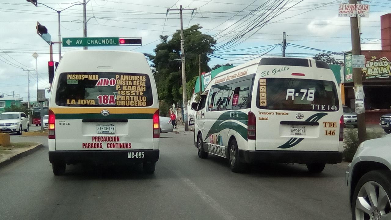 vans cancun to puerto juarez