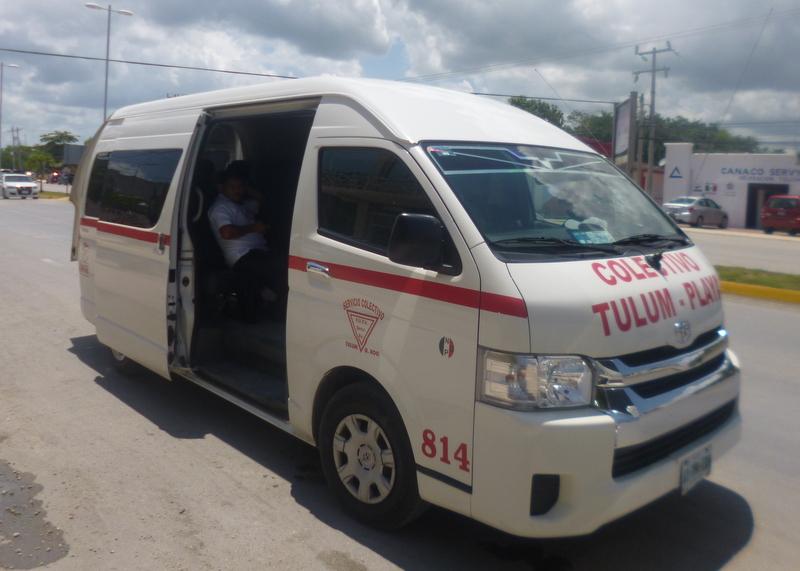 vans tulum from cancun
