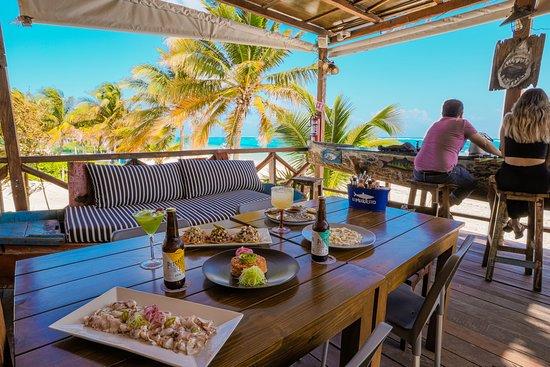 El Merkadito del Mar the best restaurant in puerto morelos
