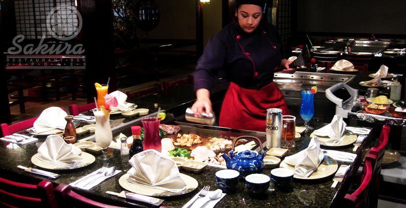 Sakura Restaurant Bar the best restaurant in mexicali mexico