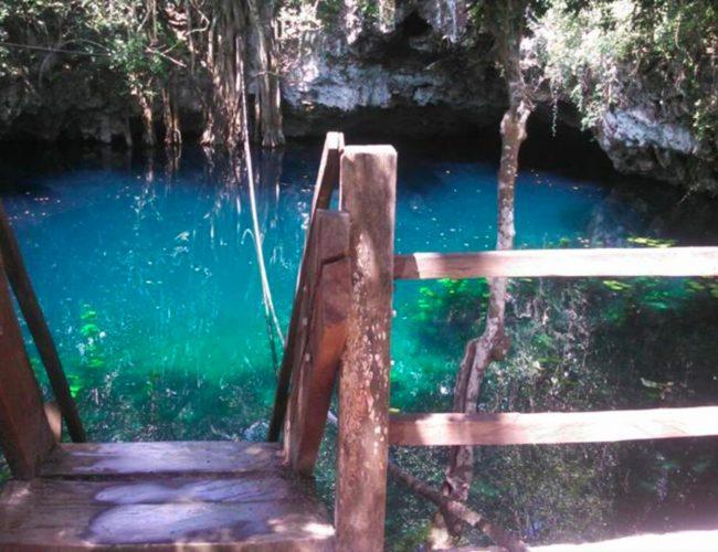Verde Lucero ruta de los cenotes