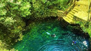 Zapote ruta de los cenotes puerto morelos
