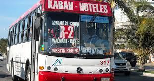 public transportation cancun aloft to hotel solaris