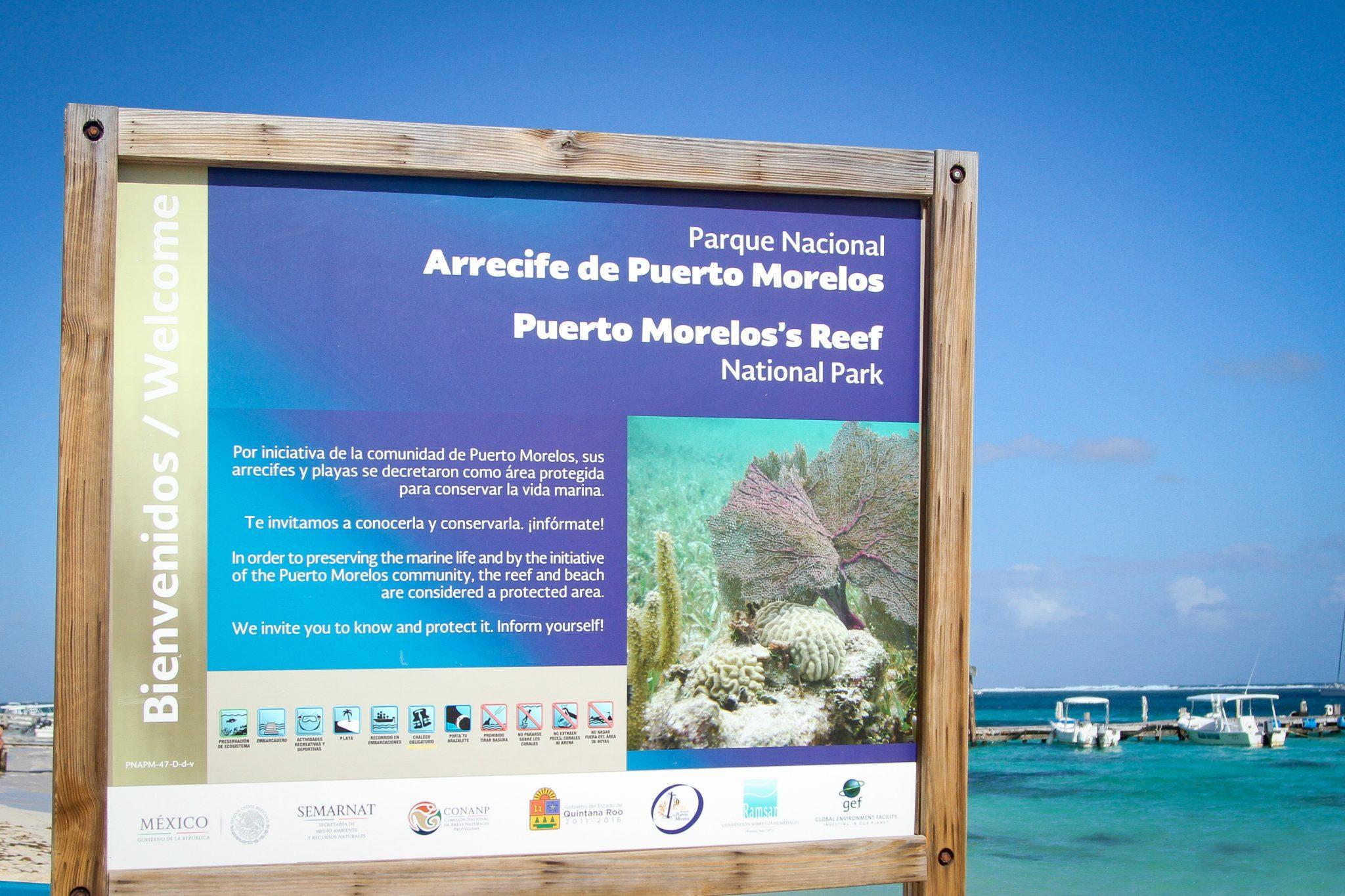 uerto Morelos Reef National Park