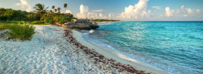Playa del Secreto puerto morelos