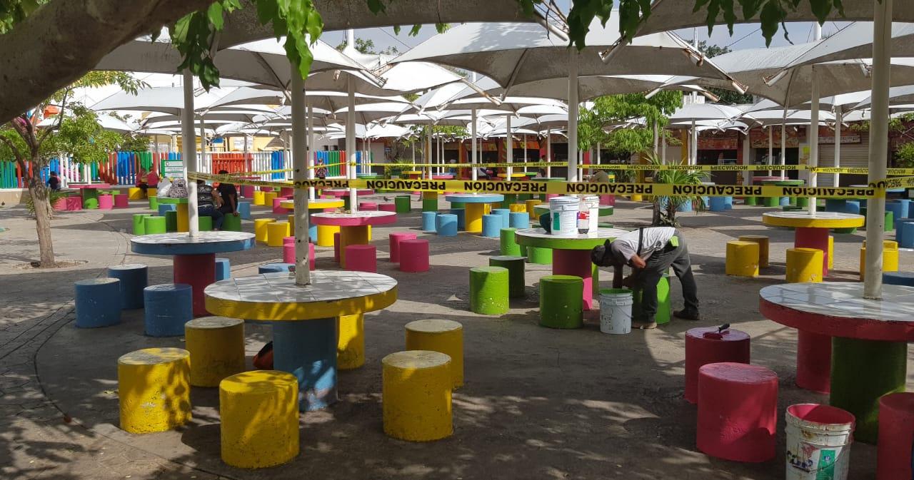 parque de las palapas - palapas park cancun