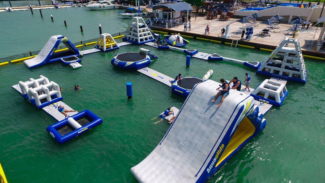 Aquabounce - kids activities in cancun