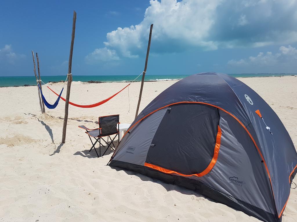 Camping in cancun