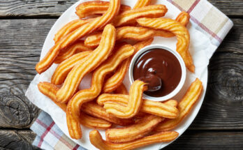 Churros Mexican desserts