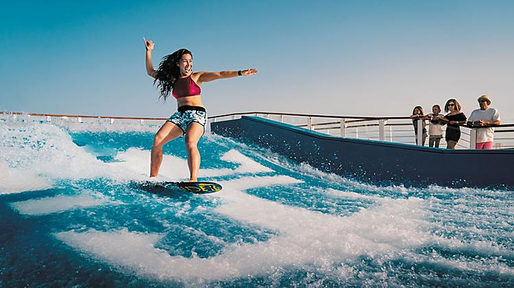 FlowRider - cancun for families