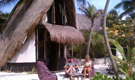 Playa Selva beach front cabins in tulum