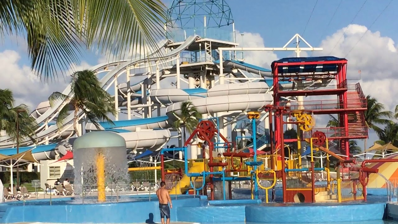 Ventura Park - kids activities in cancun