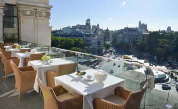 Best restaurants in Madrid-Cibeles Palace