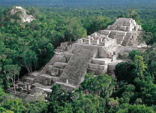 Calakmul-tourist attractions in mexico