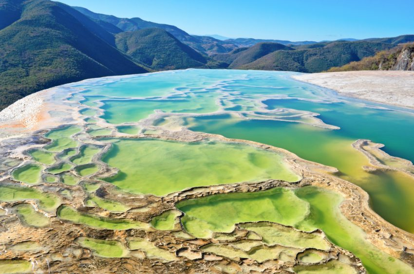 Hierve el Agua - mexico tourist attractions