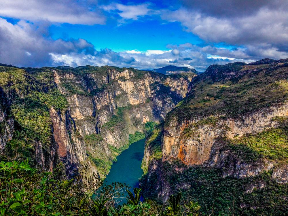Sumidero Canyon chiapas mexico atracctions