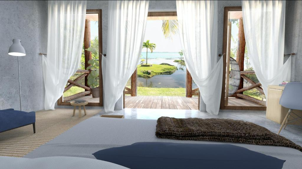 La Albarina - bacalar lagoon front hotels