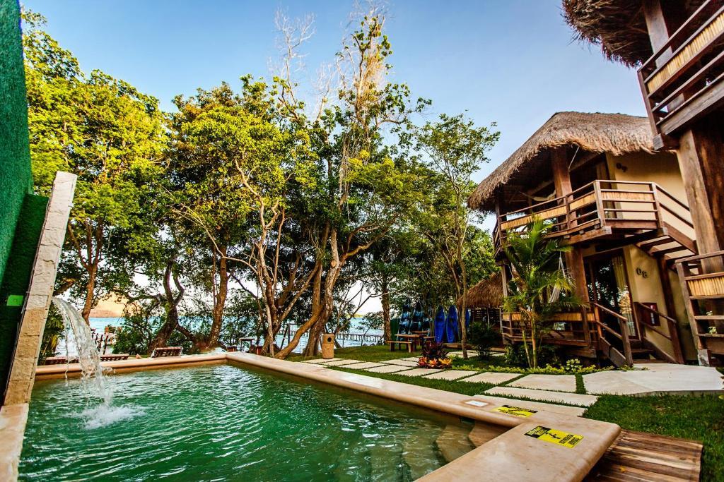 hotel carolina - where to stay in bacalar